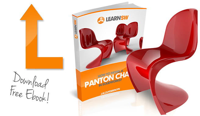 Download the SolidWorks Panton Chair Tutorial Now!