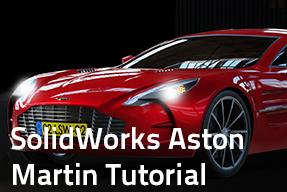 SolidWorks Aston Martin tutorial