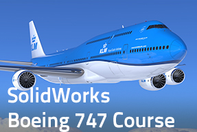 SolidWorks Boeing 747 course