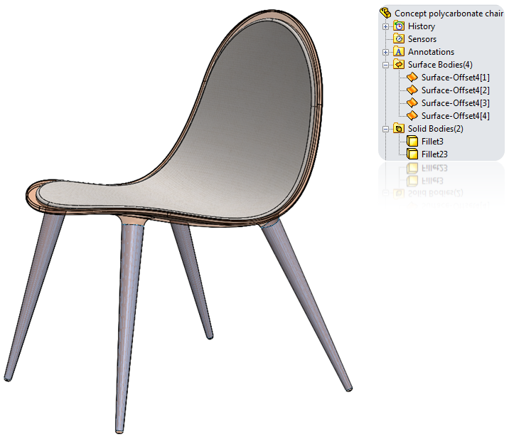 copy a surface in solidworks