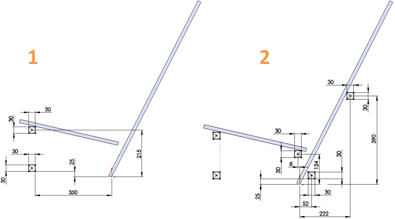2D Center Rectangle Sketch in SolidWorks