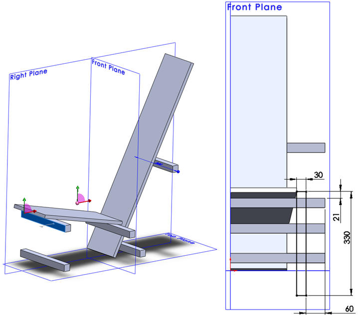 009 How To Model The Rietveld Chair In SolidWorks How to Model a Rietveld Chair in SolidWorks?