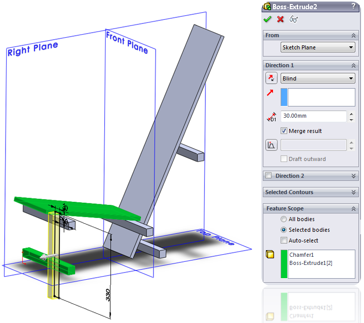 010 How To Model The Rietveld Chair In SolidWorks How to Model a Rietveld Chair in SolidWorks?