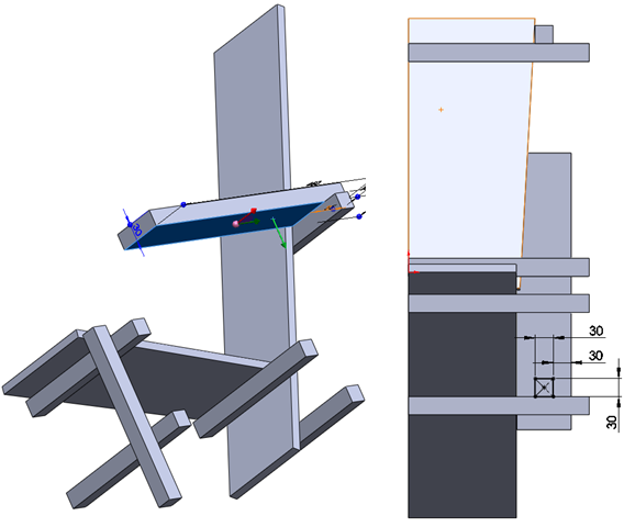 013 How To Model The Rietveld Chair In SolidWorks How to Model a Rietveld Chair in SolidWorks?