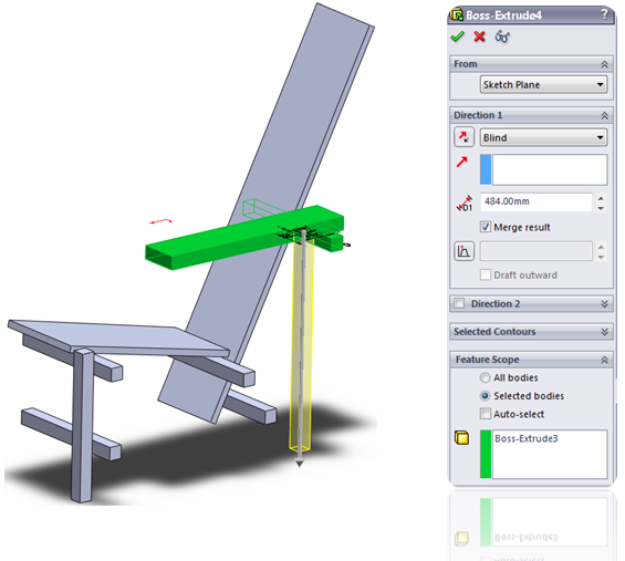 014 How To Model The Rietveld Chair In SolidWorks How to Model a Rietveld Chair in SolidWorks?