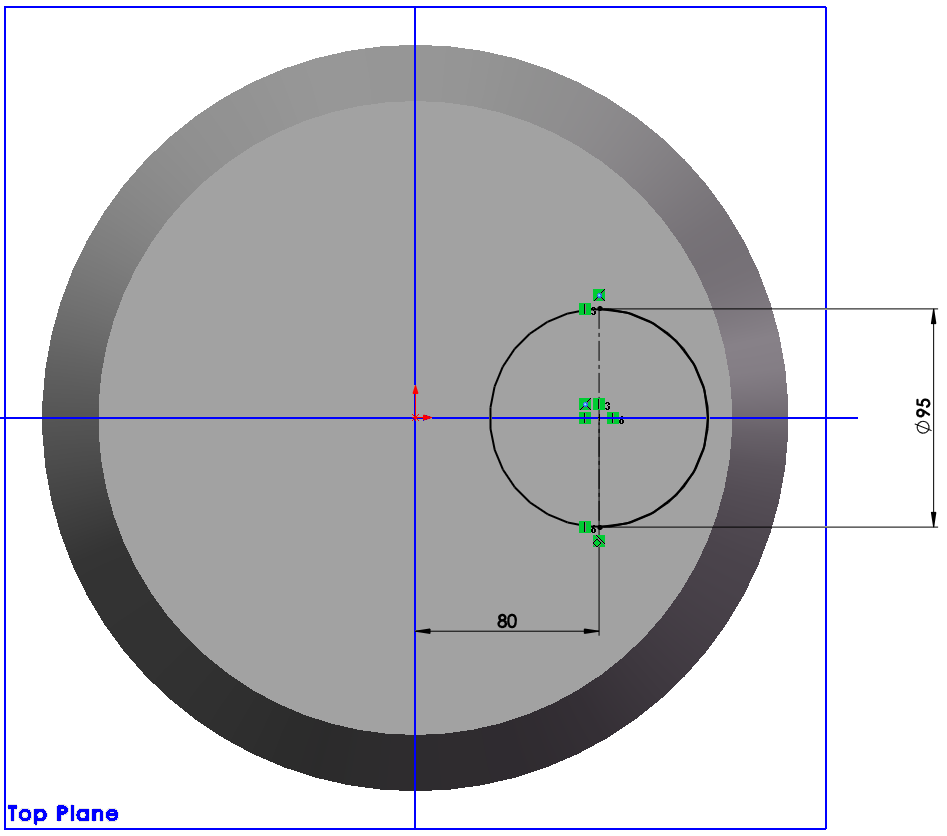 sketch circle