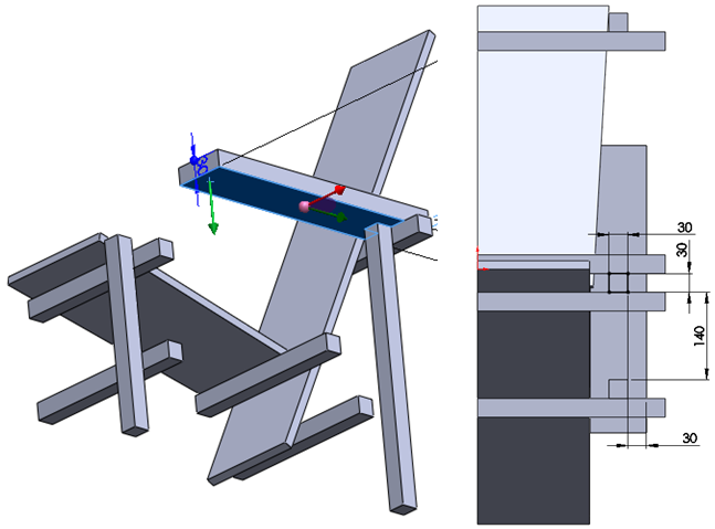 015 How To Model The Rietveld Chair In SolidWorks How to Model a Rietveld Chair in SolidWorks?
