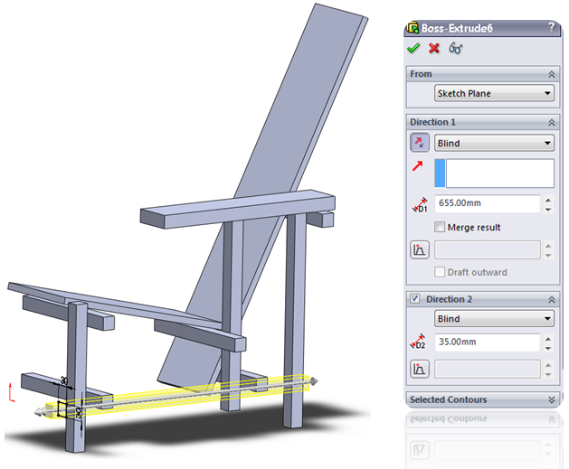 018 How To Model The Rietveld Chair In SolidWorks How to Model a Rietveld Chair in SolidWorks?