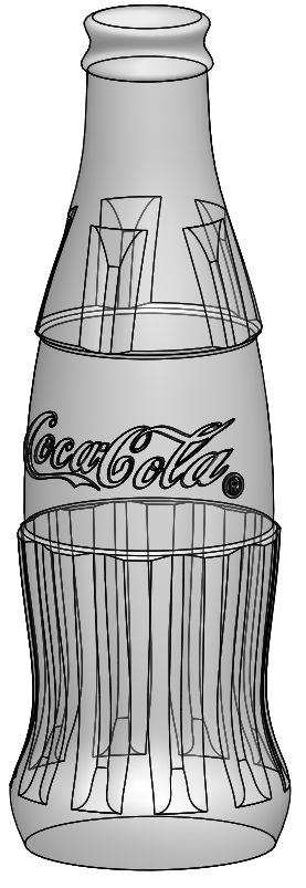 01 solidworks coke bottle How to Draw a Coke Bottle Mold in SolidWorks?