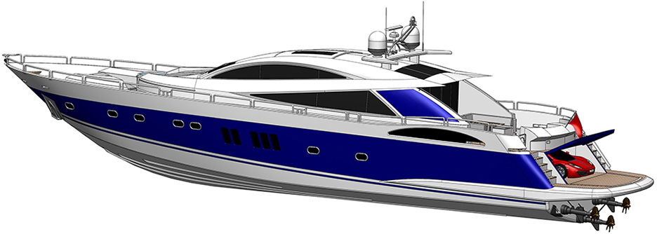 SolidWorks Yacht profile