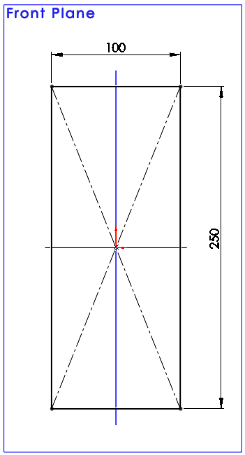 Draw a Center Rectangle