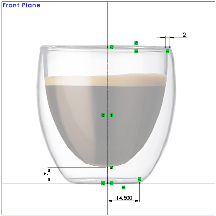 05 How to Model a Double Walled Glass in SolidWorks How to Model a Double Walled Glass in SolidWorks?