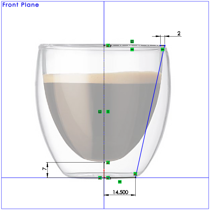 06 How to Model a Double Walled Glass in SolidWorks How to Model a Double Walled Glass in SolidWorks?