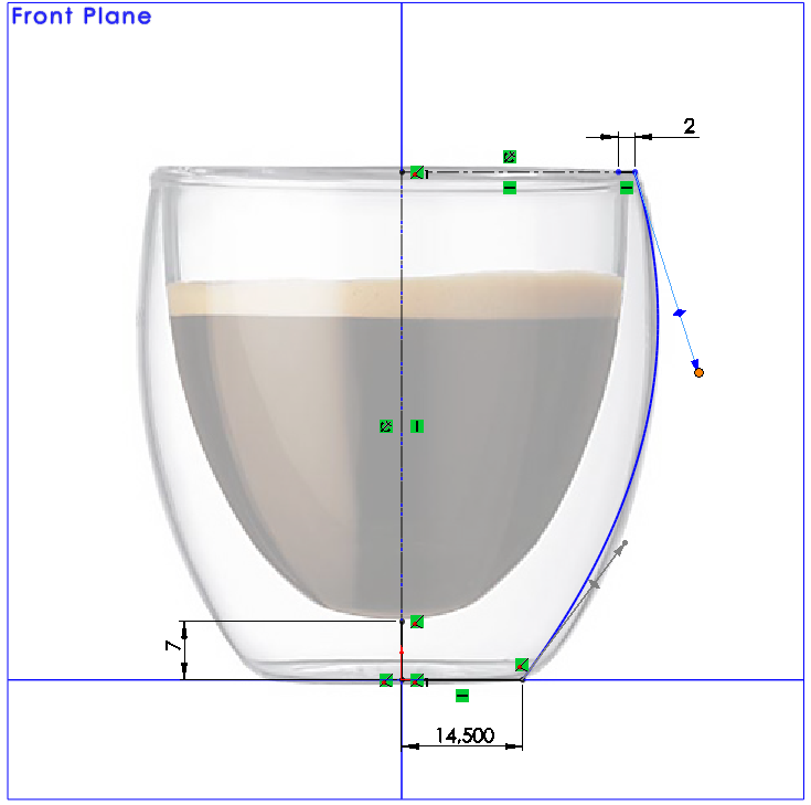 07 How to Model a Double Walled Glass in SolidWorks How to Model a Double Walled Glass in SolidWorks?
