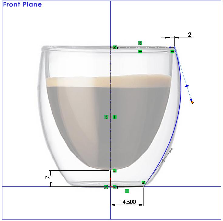 在SolidWorks中绘制样条曲线