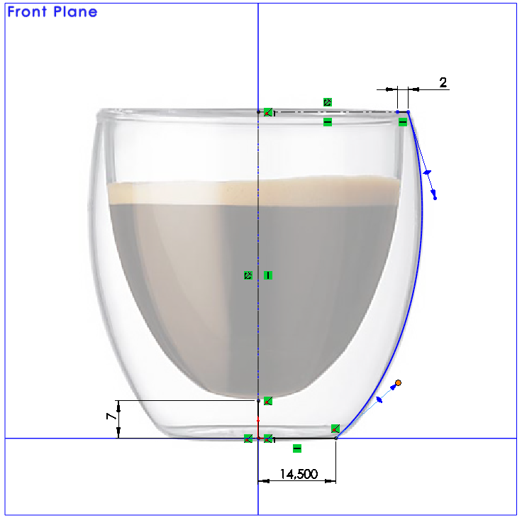 08 How to Model a Double Walled Glass in SolidWorks How to Model a Double Walled Glass in SolidWorks?