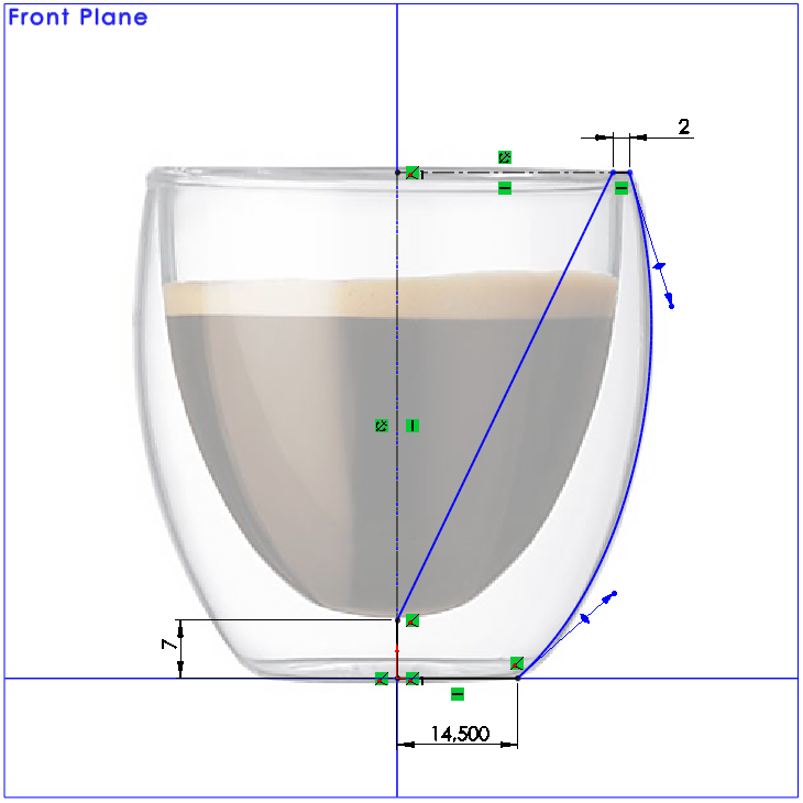 09 How to Model a Double Walled Glass in SolidWorks How to Model a Double Walled Glass in SolidWorks?