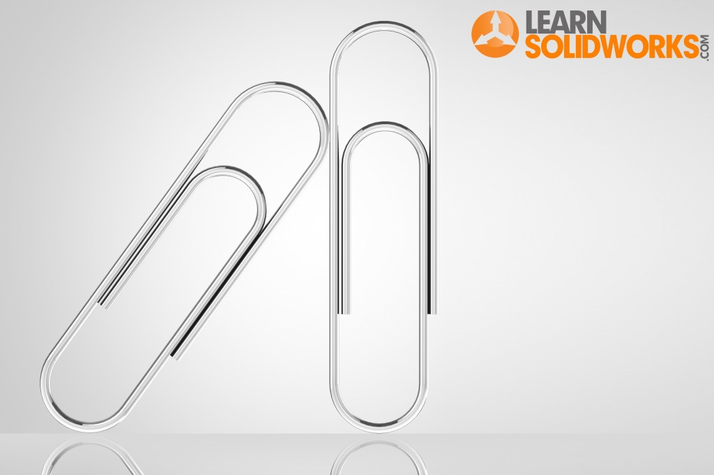 A Step-by-Step SolidWorks Tutorial to create a Paperclip in SolidWorks