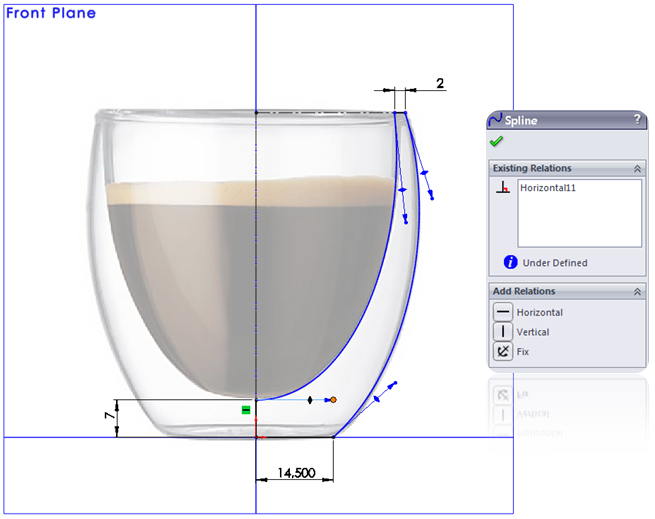 11 How to Model a Double Walled Glass in SolidWorks How to Model a Double Walled Glass in SolidWorks?