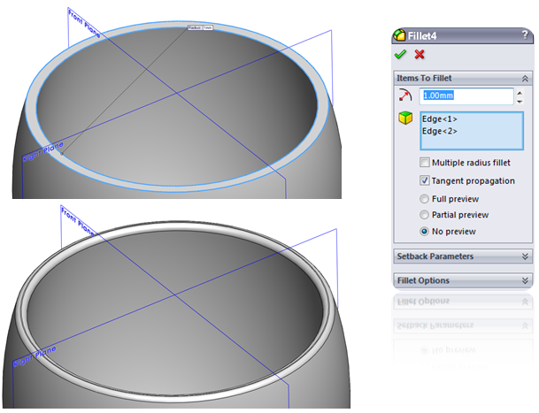 13 How to Model a Double Walled Glass in SolidWorks How to Model a Double Walled Glass in SolidWorks?