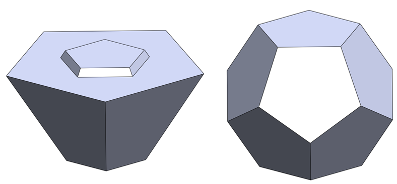 20 solidworks rebuilt How to Model a Dodecahedron in SolidWorks?
