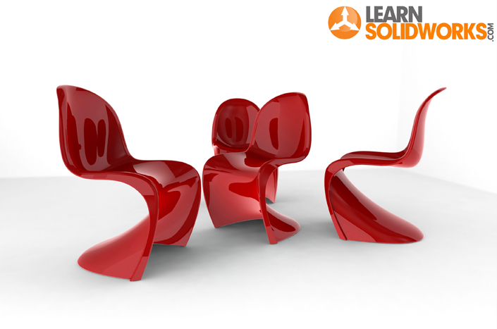 Free SolidWorks Panton Chair eBook | LearnSOLIDWORKS.com