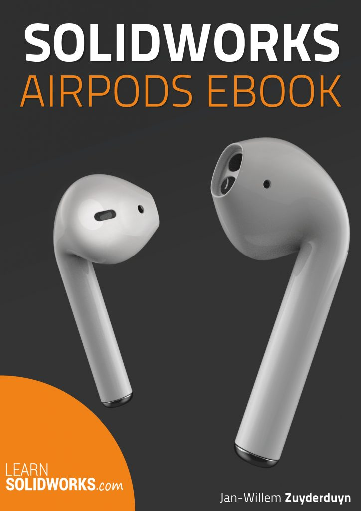 eBook preview SolidWorks airpods tutorial