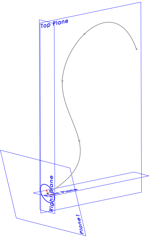 SolidWorks Circle