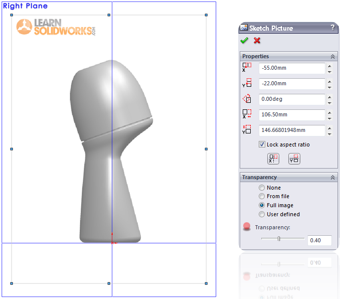 Deodorant Roller Tutorial 002 How to Model a Deodorant Roller in SolidWorks?