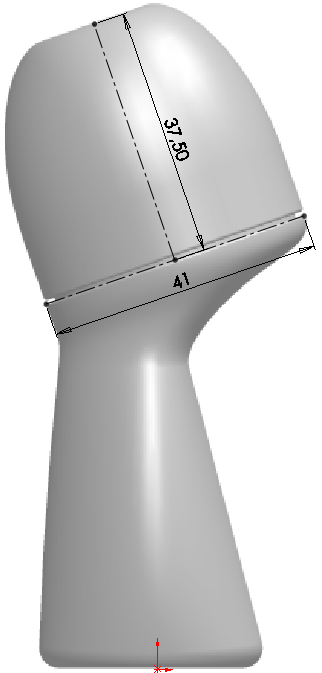 Deodorant Roller Tutorial 005 How to Model a Deodorant Roller in SolidWorks?