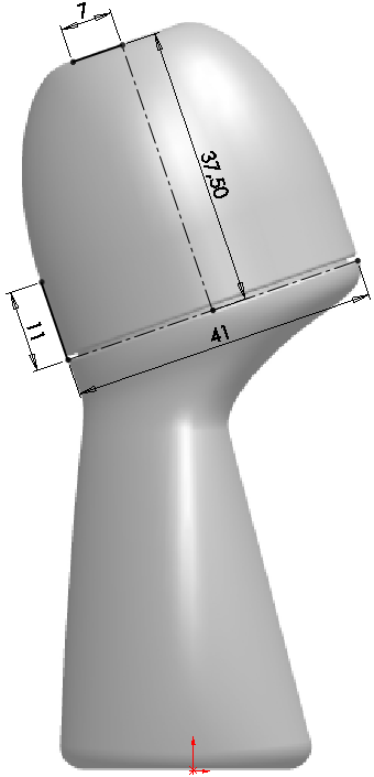 Deodorant Roller Tutorial 006 How to Model a Deodorant Roller in SolidWorks?