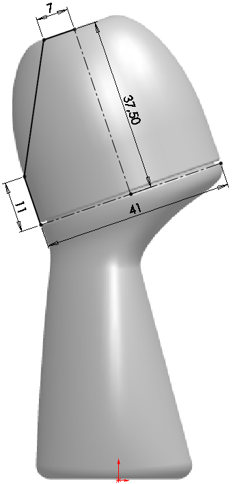 Deodorant Roller Tutorial 007 How to Model a Deodorant Roller in SolidWorks?