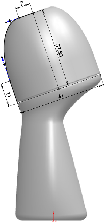Deodorant Roller Tutorial 009 How to Model a Deodorant Roller in SolidWorks?