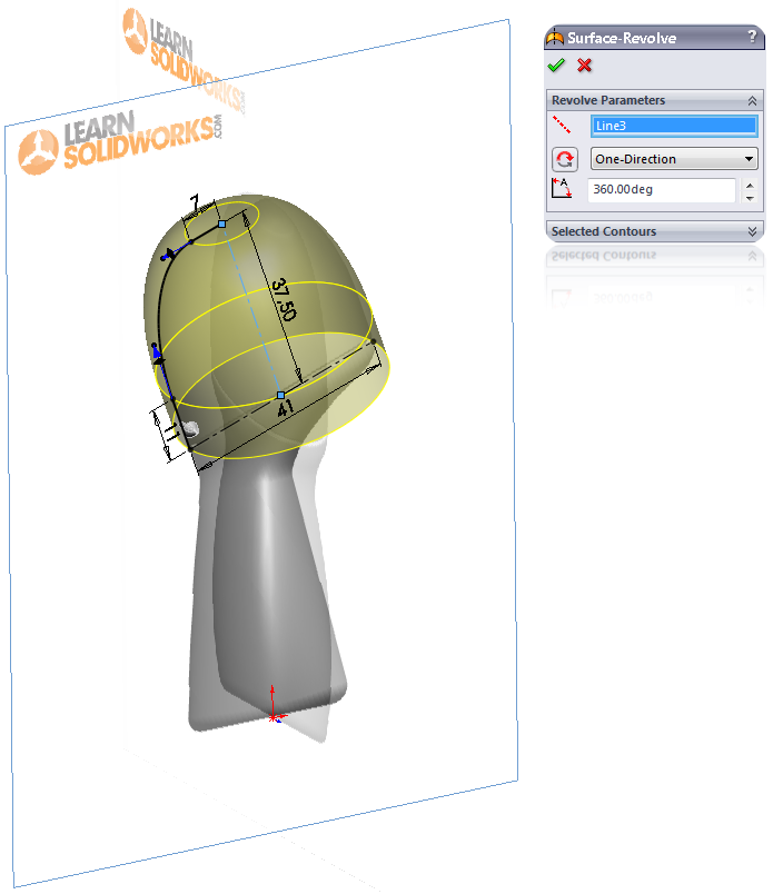 Deodorant Roller Tutorial 010 How to Model a Deodorant Roller in SolidWorks?