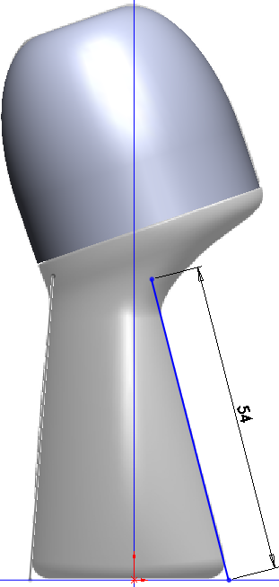 Deodorant Roller Tutorial 012 How to Model a Deodorant Roller in SolidWorks?