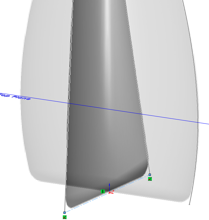 Deodorant Roller Tutorial 014 How to Model a Deodorant Roller in SolidWorks?