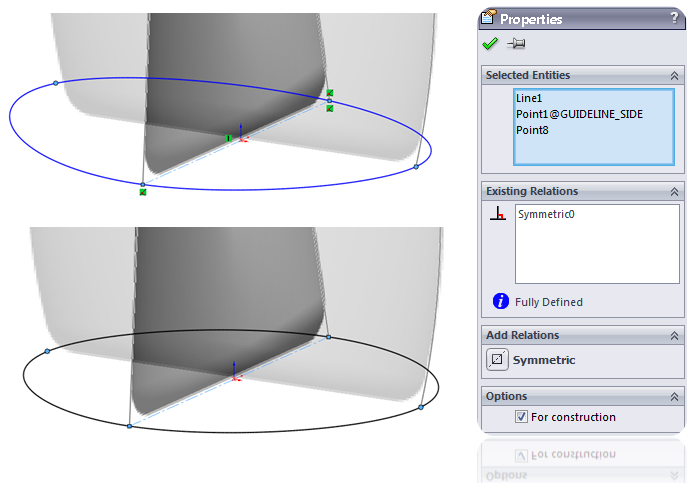 Deodorant Roller Tutorial 016 How to Model a Deodorant Roller in SolidWorks?