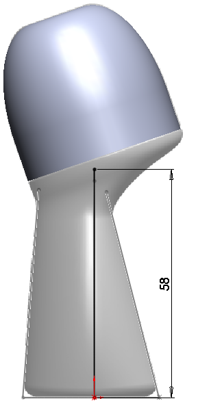 Deodorant Roller Tutorial 017 How to Model a Deodorant Roller in SolidWorks?