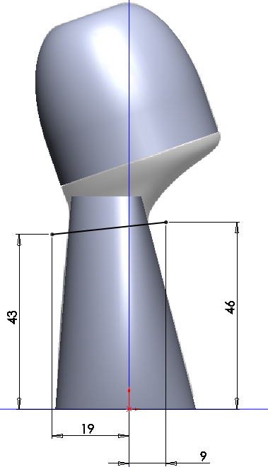Deodorant Roller Tutorial 020 How to Model a Deodorant Roller in SolidWorks?