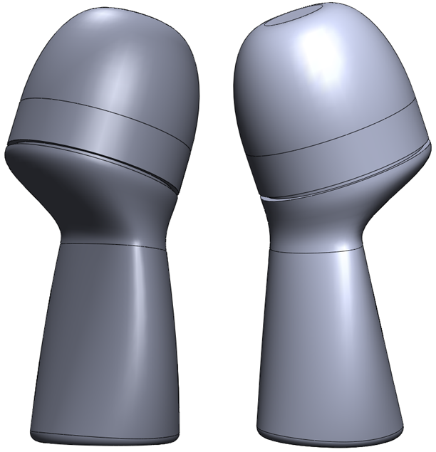 Deodorant Roller Tutorial 031 How to Model a Deodorant Roller in SolidWorks?