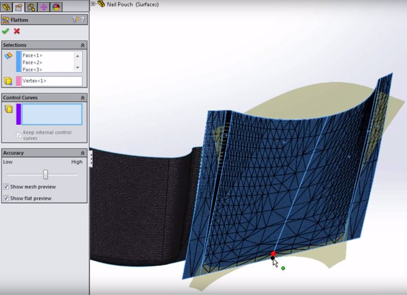 How To Flatten A Surface In Solidworks Learnsolidworks Com