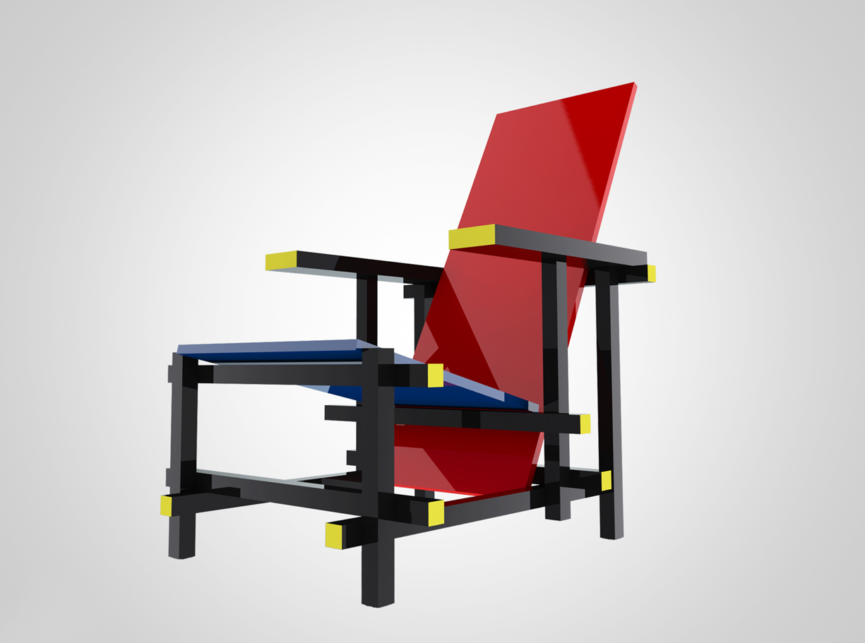 How To Model A Rietveld Chair In Solidworks