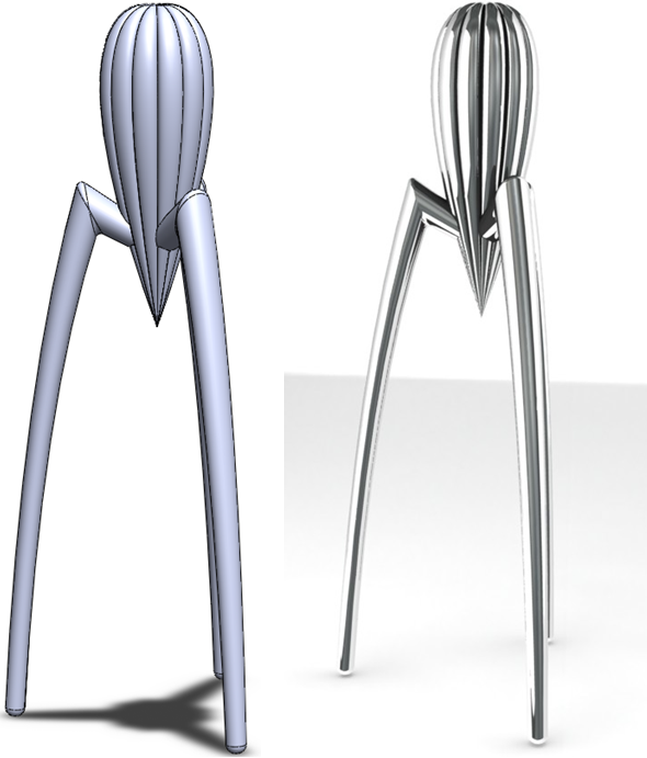 How to Model Starcks Citrus Squeezer in SolidWorks 037 How to Model a Citrus Squeezer in SolidWorks?