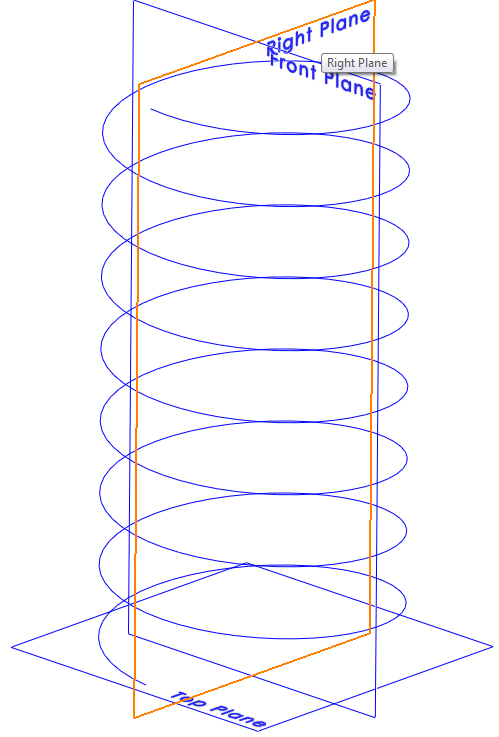 Spring 004 How to Model a Spiral in SolidWorks?