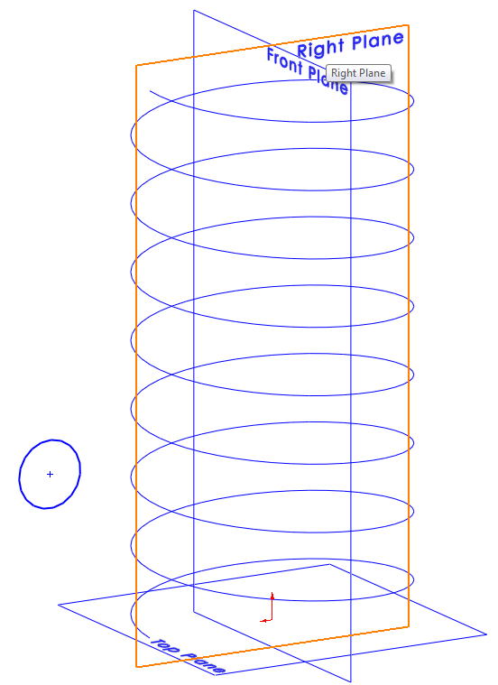 Spring 005 How to Model a Spiral in SolidWorks?