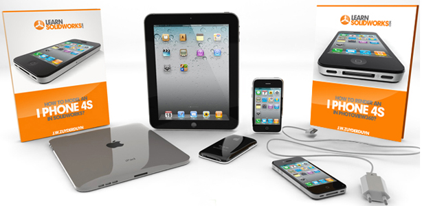 First prize of the Render Contest is the SolidWorks iPhone Tutorial