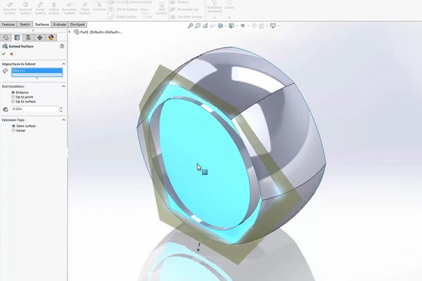 Video 1 SolidWorks Ring tutorial