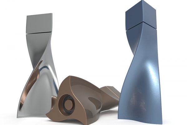 SolidWorks tutorial curved model