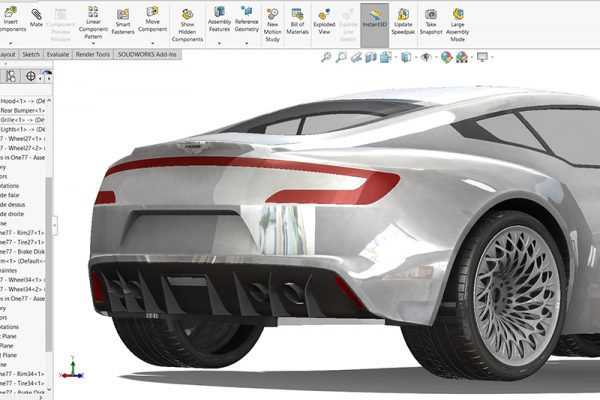 SolidWorks rim tutorial