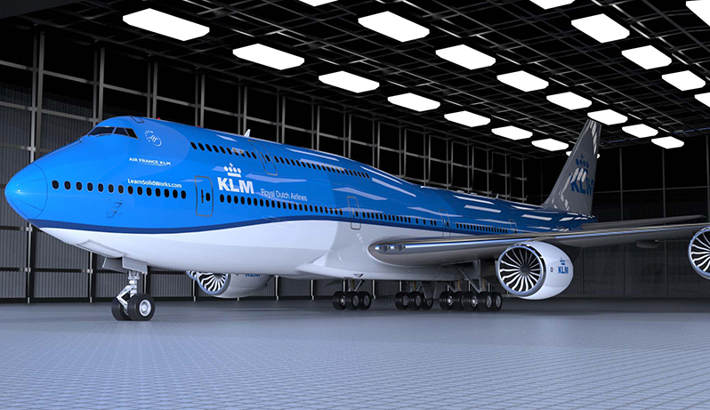 SolidWorks Boeing 747 tutorial